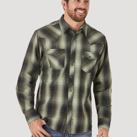 Wrangler L/S shirts