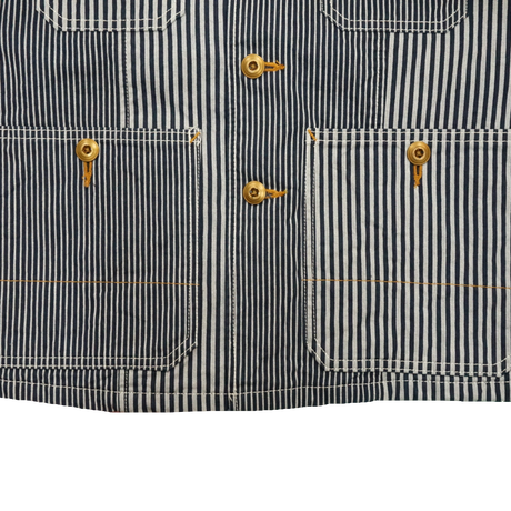 CORBILO coverall (ヒッコリー) sizeS