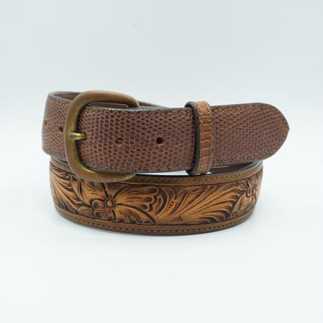 FUNNY Western Craft&Lizard Belt  size 34