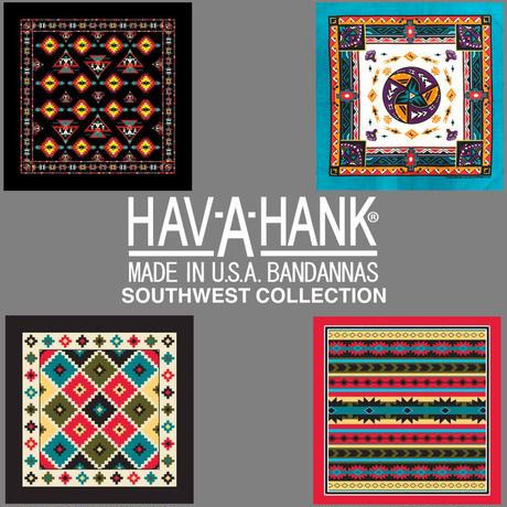 HAV-A-HANK TRADITIONAL SOUTHWEST BANDANA