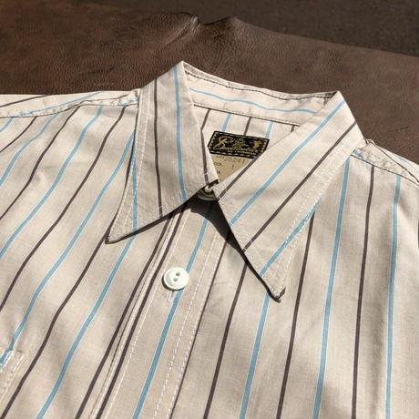 Cushman S/S Stripe work shirts