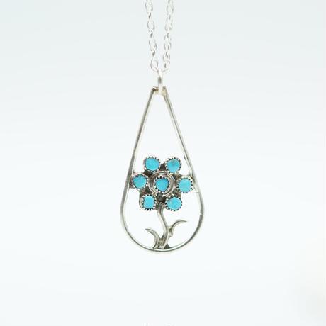 Indian Jewelry flower ZUNI Top