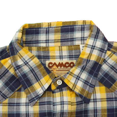 CAMCO western L/S shirt size L(イエロー)