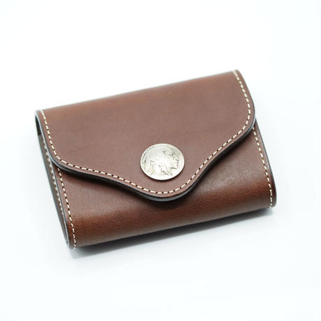 FUNNY Coincase Bellows BRIDLE LEATHER