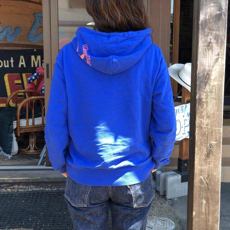 NewDeal Original pullover hoodie(オーシャンブルー)