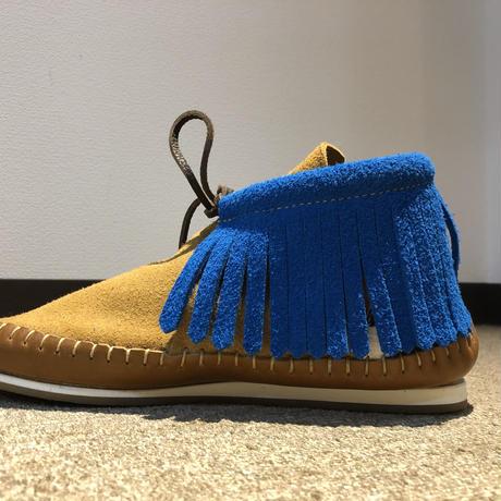 FUNNY Moccasin fringe boots size 26.5cm