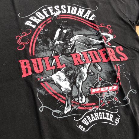 Wrangler BULL RIDERS TEE (ブラック)