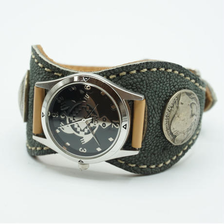 KC,s Watch bless Espanola elephant(グレー)