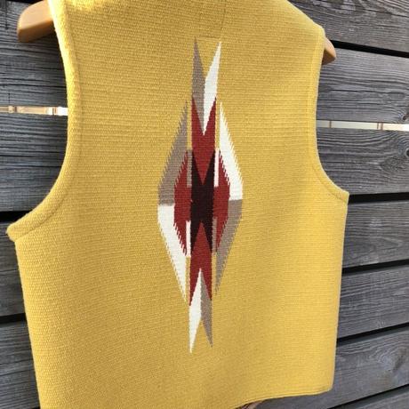 ORTEGA'S CHIMAYO vest (38.イエロー)