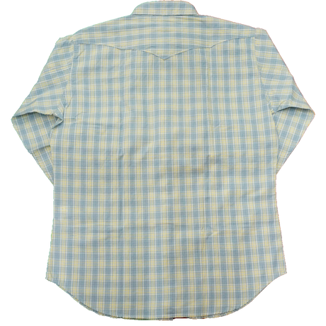 CAMCO western L/S shirt size L(アクア)