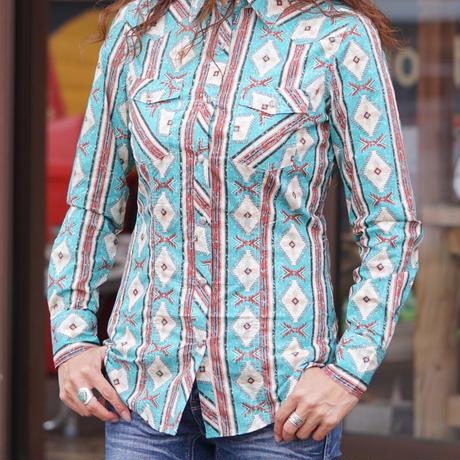 ROCK&ROLL DENIM Western L/S Shirt