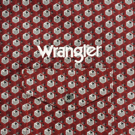 Wrangler western L/S shirt(レッド)