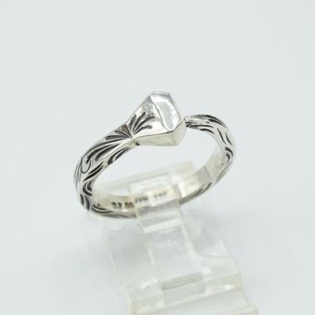 FUNNY D.E.OSCAR Horseshoe Nail Ring