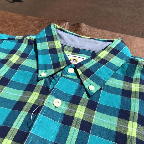 Pendleton S/S Seaside BD shirts (グリーン) size M