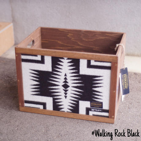 PENDLETON Tall Wood Box