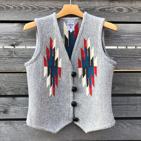 ORTEGA'S CHIMAYO vest (S.ライトグレー)