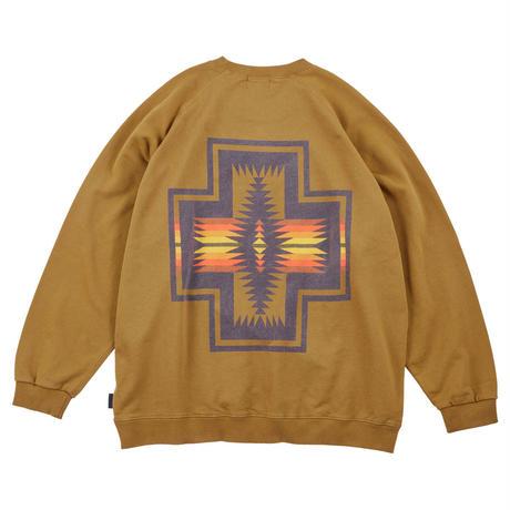PENDLETON Raglan Back Print Sweat Pullover