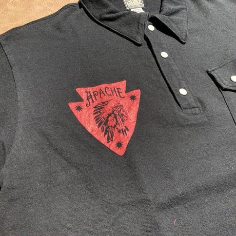 GUNZ Indian polo shirt(ブラック) size L