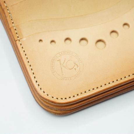 KC,s Wallet center flap(レッド)