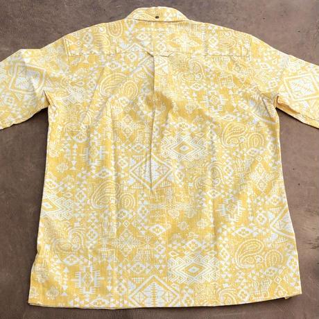 Pendleton S/S Reyn spooner shirts(イエロー) size S