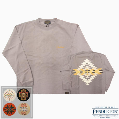 PENDLETON L/S Back Print Tee