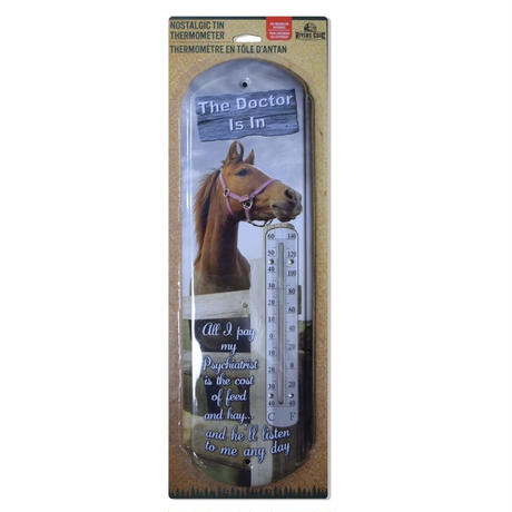TIN THERMOMETER - DOCTOR'S IN