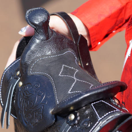 Mexican saddle bag(ブラック)