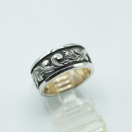 HAND ENGRAVED 3D RING