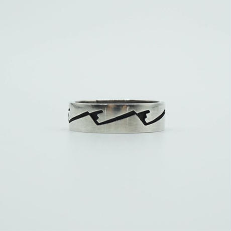 Indian Jewelry HOPI Ring by Marvin Lucas Naquahyeoma