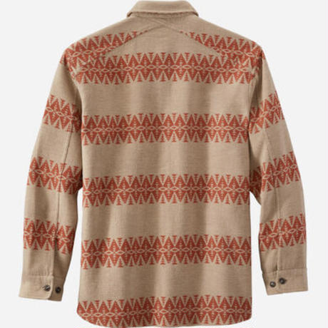 PENDLETON Driftwood L/S shirt(Tan/Red)