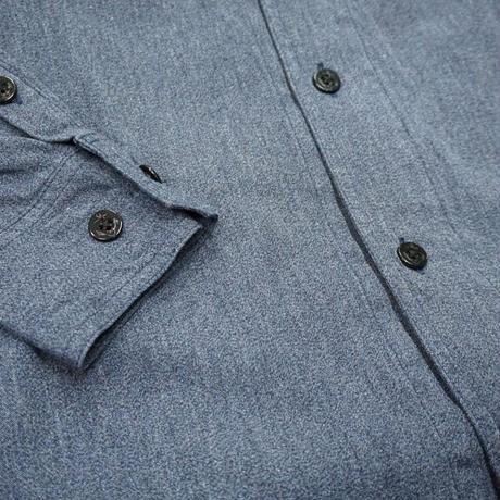 Cushman Mix chambray marine shirts #25558(ミックスブルー)
