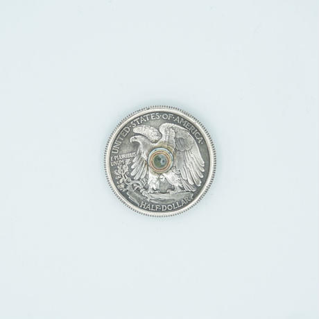 FUNNY Coin ¢50 LIBERTY WALKING CONCHO 31mm