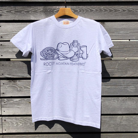 RockyMountainFetherbed Tシャツ(ホワイト)