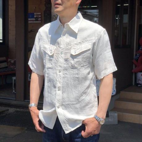 Cushman Western shirts linen