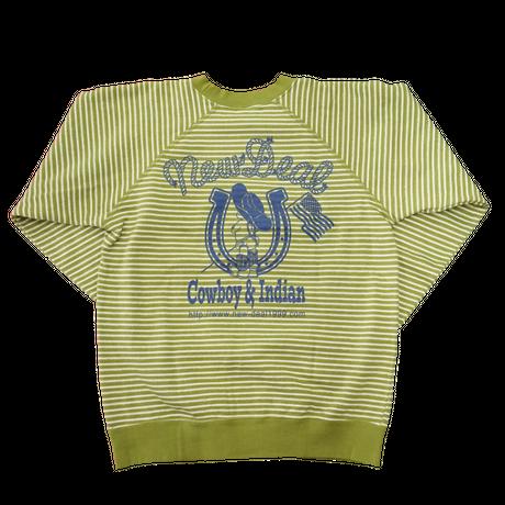 NewDeal original cowboy sweat(グリーン)