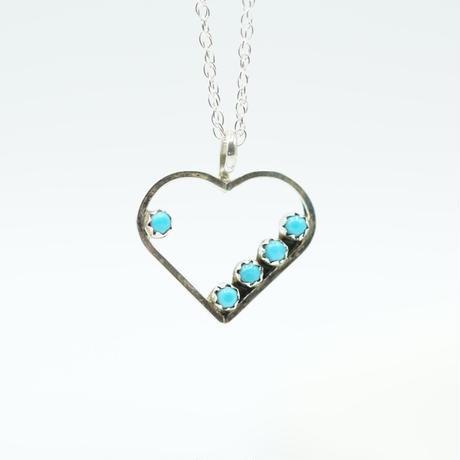 Indian Jewelry Heart NAVAJO Top