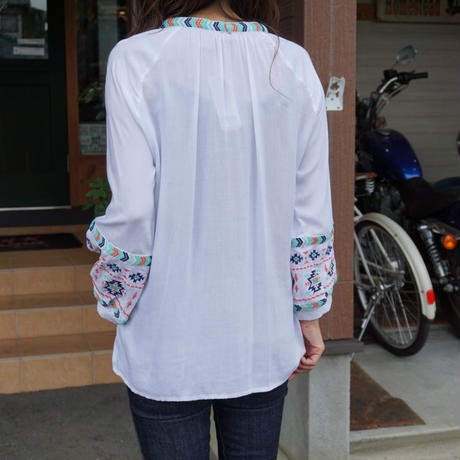 Wrangler  Long Sleeve Womens Peasant Top LW2050M size S