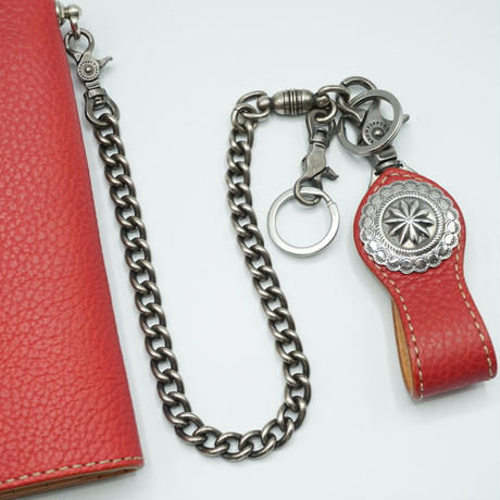 FUNNY Rider's Wallet Shrink Leather(レッド)