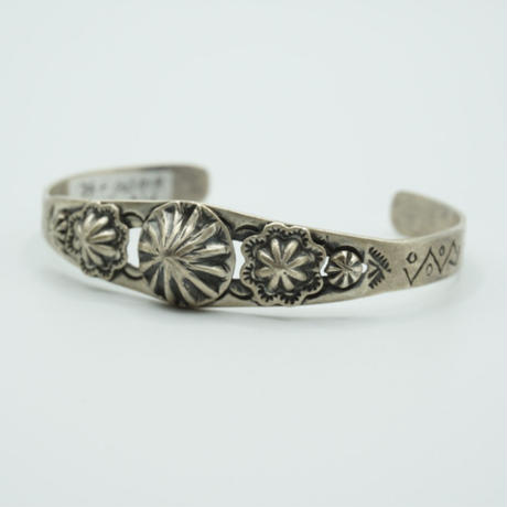 Indian Jewelry NAVAJO Bangle by L James