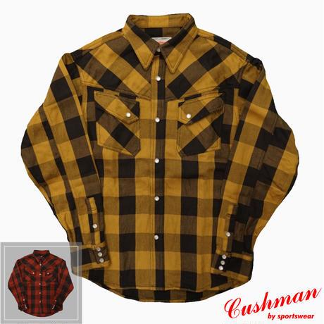 Cushman Buffalo Check Western shirt