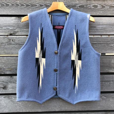 CENTINELA CHIMAYO vest (36.デルフトブルー)