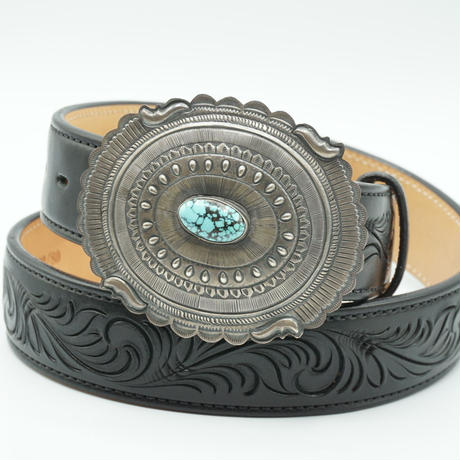 Indian Jewelry 1.5inch NAVAJO Buckle by Eugene Charley