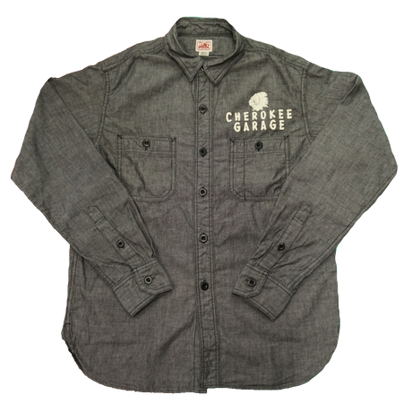 GUNZ Work shirts #440G625(ブラック)