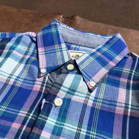 Pendleton S/S Seaside BD shirts (ブルー)
