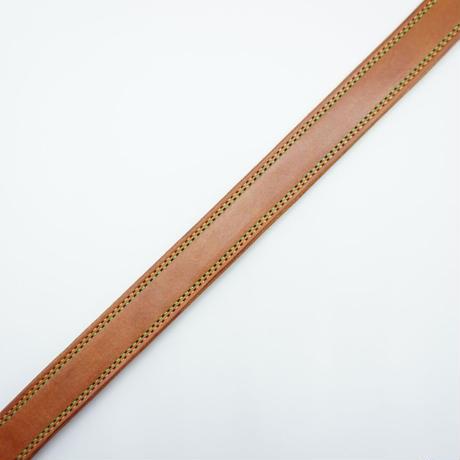 KC,s Bridle double stitch Belt(ライトブラウン) size34インチ