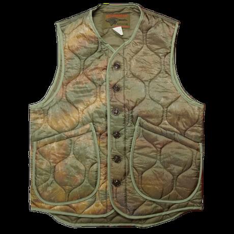 Cushman Soft nylon quilting Vest(カーキ)