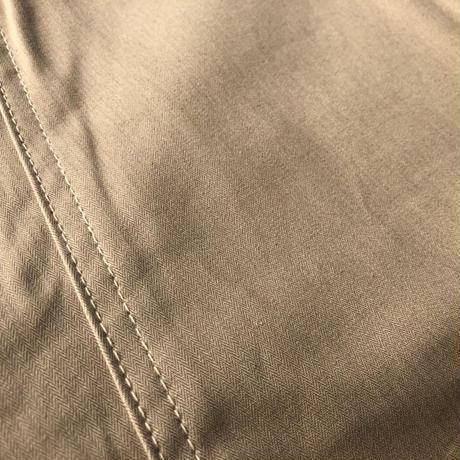 Cushman Herringbone baker shorts(ベージュ)