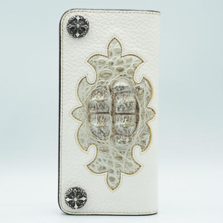 FUNNY Slow Crown Wallet(ホワイト)