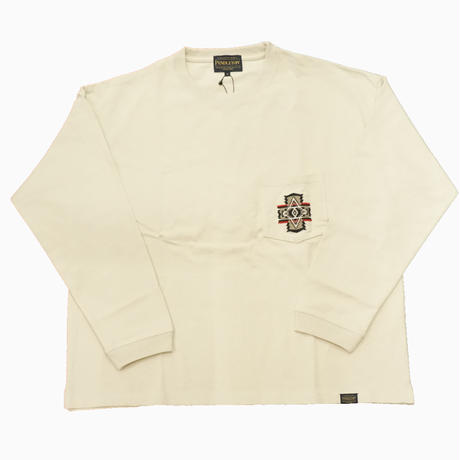 PENDLETON L/S Pocket Tee  Taupe(Over All)