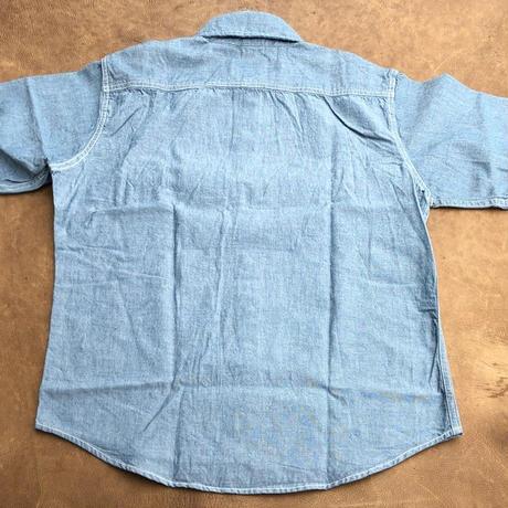 Camco S/S Shambray shirts(ブルー)